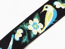 Elastic tape Jacquard Webbing Fabric ribbon strap gift decorative