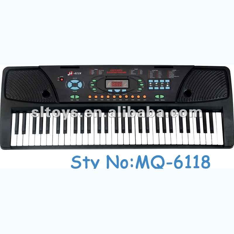 Teclas 61 juguete educativo mq-6118