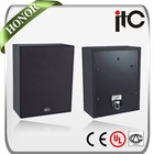 Indoor Wooden Cabinet Box Speaker Classroom or Office Use 100V 6W PA System T-601L