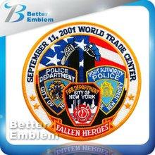 911 American Flag Embroidery Emblem