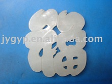 natural white jade hand carved pendant jade craft carving