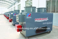 Automatically oil fired industrial air heater