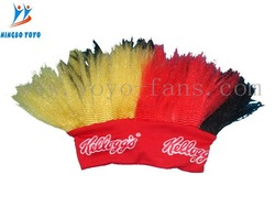 football fan wig WITH CE CERTIFICATE