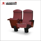 Leadcom Luxury chair for theatre (LD-8604), combination of pneumatic mechanism and damping, 560mm C/C