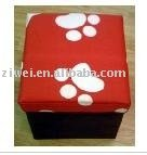 strong Storage box stool / square storage stool