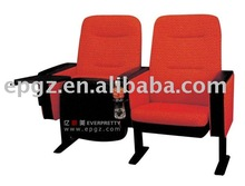 Modern Auditorium Chiar with PP Tablet,Film Theater chair