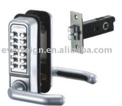 Mechanical digital door lock or password lock