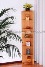 6 etagen bambus anzeige ecke regal, bambus buch veranstalter