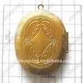 venta al por mayor de oro 2014 flotante locket encanto diseños 39x42mm zx101