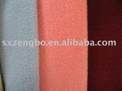 Plain polyester polar fleece fabric,velvet fabric
