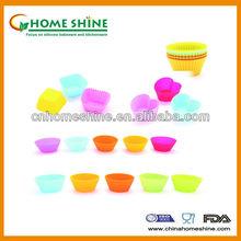Mini silicone round silicone cake stand