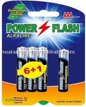 LR03/AM-4/AAA Alkaline battery