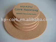 Different cork coaster/cork pad