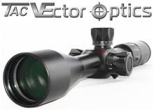 """Vector Optics Paladin 4-16x50 First (Front) Focal Plane Tactical Rifle Scope 14"""" Bullet Drop Reticle"""