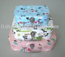 cute design children paper cardboard suitcase
