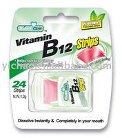 Vitamin B12 breath Strip