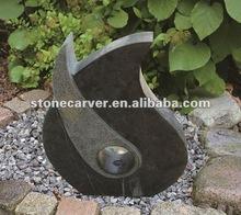 Garden Outdoor Stone Fountain Water Ornament