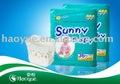 sunny fraldas para bebés