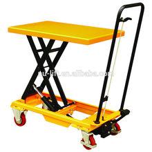 Portable Hydraulic Scissor Lift Table Cart