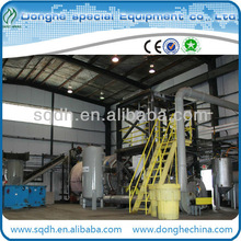 WJ-6 batch model waste plastic/plastic products pyrolysis equipment with CE/ISO from donghe company waste plastic to oil plant