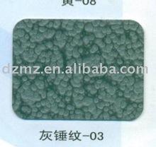 decorative powder coating for steel door