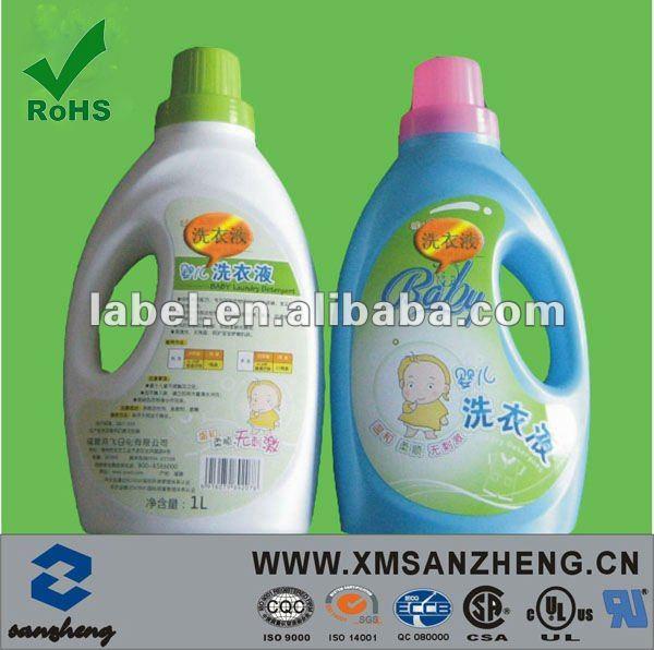 La etiqueta privada para los cosméticos, champús, gel de ducha