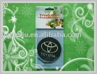 car mark paper air freshener