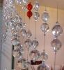 6mm-20mm facet bead crystal bead curtain