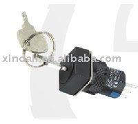 rectangular key knob push button switch SDL16-11YF