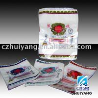 Plastic retort pouch frozen food bag for fresh sausage packaging