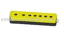 IP54 seven holes 22mm push button control box parts/accessories/enclosure LAY5-JBPN7