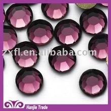 2012 New Amethyst Crystal DMC Flat Back fake Gemstones Rhinestone
