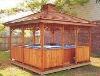 High quality sunny outdoor gazebo outdoor column gazebos wooden gazebos for sale