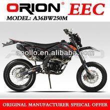 China Apollo ORION EEC 250CC On Road MOTORCYCLE Enduro Street Bike 17/17