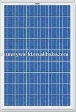 140W efficient polycrystalline solar roof panels