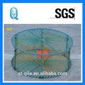 Multifunción redes trampa, red de pesca de cangrejo
