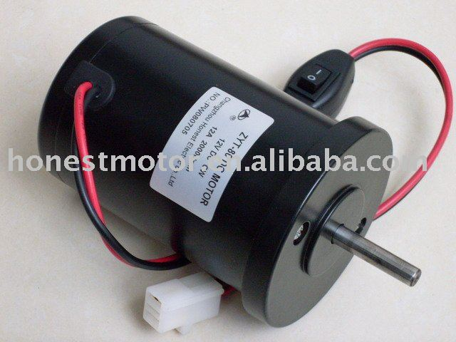 2250rpm Permanent Magnet Brush Dc Motor View 2250rpm