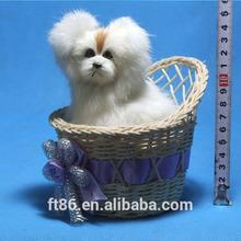 novelty fur imitated handmade hot sale realistic furry animal crafts