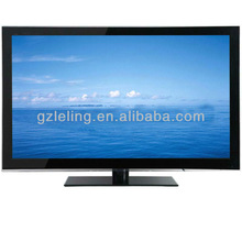 "super slim,narrow frame,wall mounted,cheapest price 55"" LED TV with USB,HD,VGA,SCART"