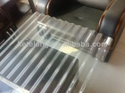 clear plastic corrugated sheet