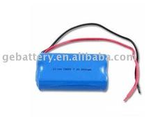 7.4V2200mAh lithium battery 18650 battery pack