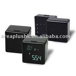 flip retro alarm clock + radio function