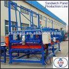 EPS Sandwich Panel Production Line|sandwich panel machinery|sandwich panel machine