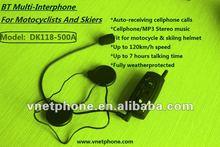 Hot sale wireless 500m wireless bluetooth motorcycle interphone