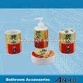 اكسسوارات الحمام السيراميك (4pcs)