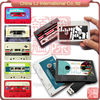 RFID mixtape Cassette usb flash drive recording tape usb flash drive, NFC custom print Cassette tape USB pen Drive