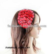 Fashion elegant handmade Party feather headband