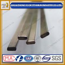 High Strength harga terbaik Forged ASTM B348 Gr5 titanium Flat bar