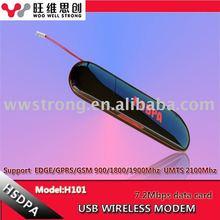 HOT 3.5G USB HSDPA H101 7.2Mbps wireless modem
