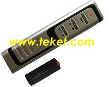 Anyctrl 2.4G RF Wireless Page Up/Down Laser Presenter-P2